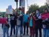 Vecinos de Estación Central protestan por falta de locomoción colectiva