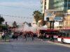 Pobladores salieron a la calle en Maipú en protesta por la falta de viviendas