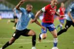Chile y Uruguay empataron en la Copa América