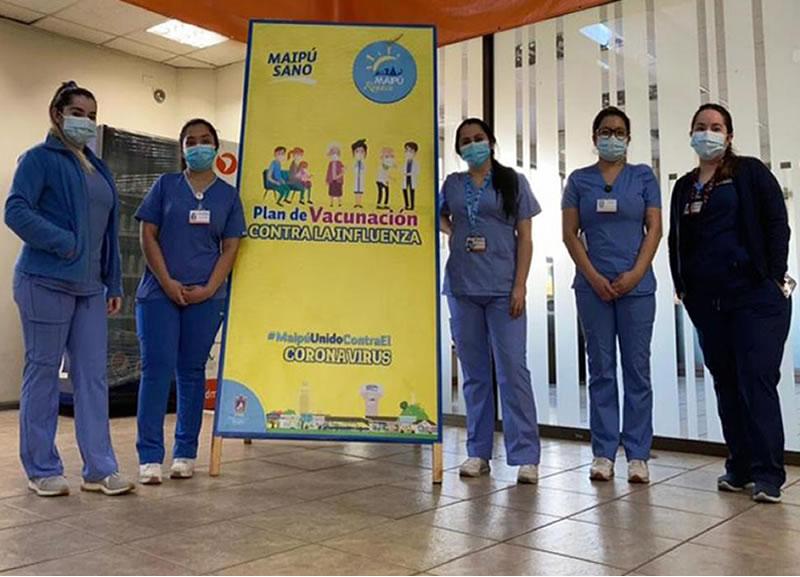 UDLA Vacunacion Influenza Campus Maipu